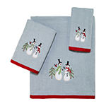 Avanti Tall Snowman Holiday Bath Towel