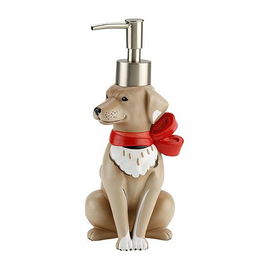 Avanti Holiday Dogs Soap Dispenser