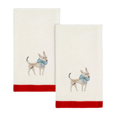 Avanti Holiday Dogs 2-pc. Fingertip Towel