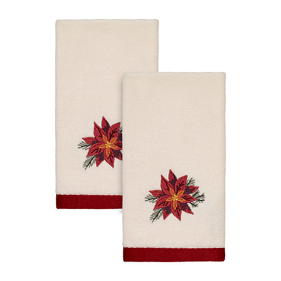 Avanti Cardinal 2-pc. Embellished Fingertip Towel