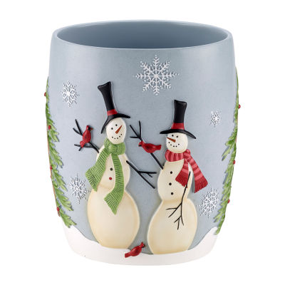 Avanti Tall Snowman Waste Basket