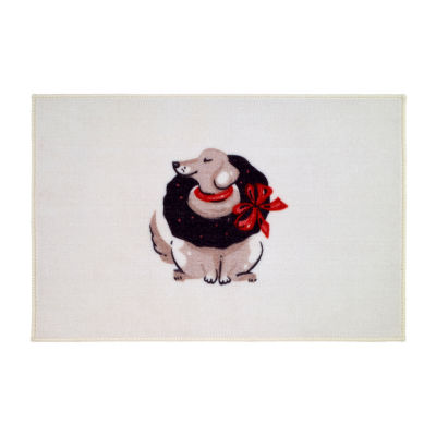 Avanti Holiday Dogs Bath Rug