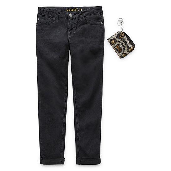 Vgold Little & Big Girls Skinny Fit Jean