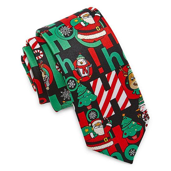 Boys Christmas Santa Ties