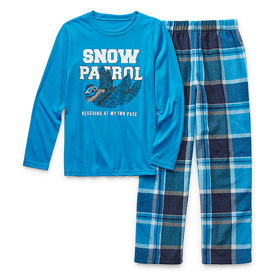 Arizona Boys 2-pc. Pant Pajama Set Preschool / Big Kid
