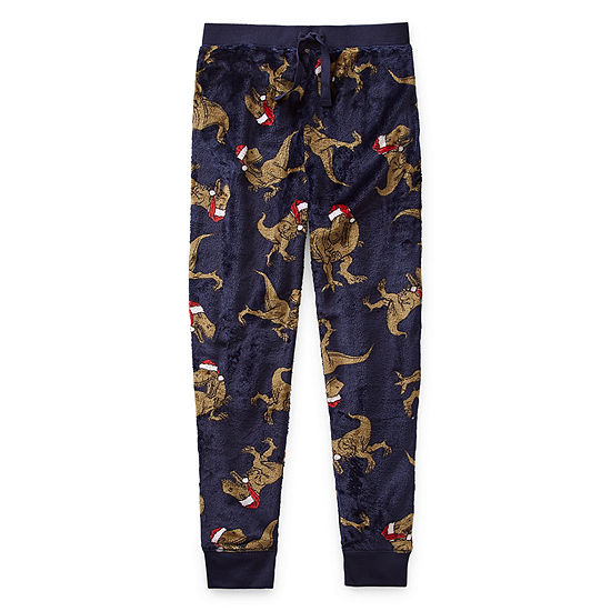 Arizona Holiday Little & Big Boys Fleece Pajama Pants