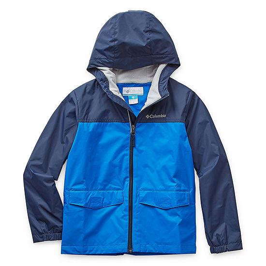 Columbia Sportswear Co. Boys Water Resistant Lightweight Raincoat-Big Kid
