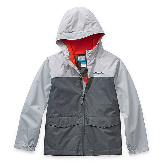 Columbia Sportswear Co. Boys Water Resistant Lightweight Raincoat-Big Kid