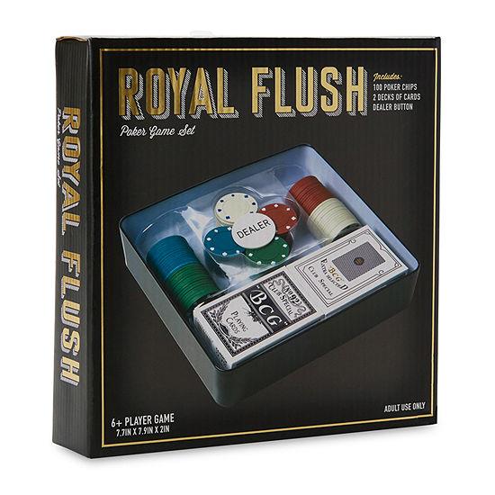 Royal Flush Poker Set