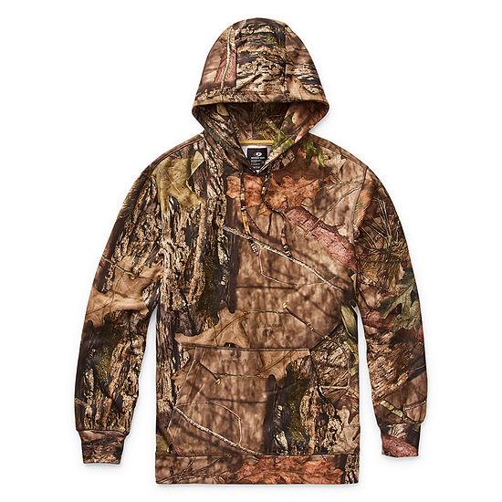 Mossy Oak-Big and Tall Mens Long Sleeve Hoodie