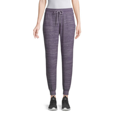 St. John's Bay Active Cozy Womens Mid Rise Jogger Pant