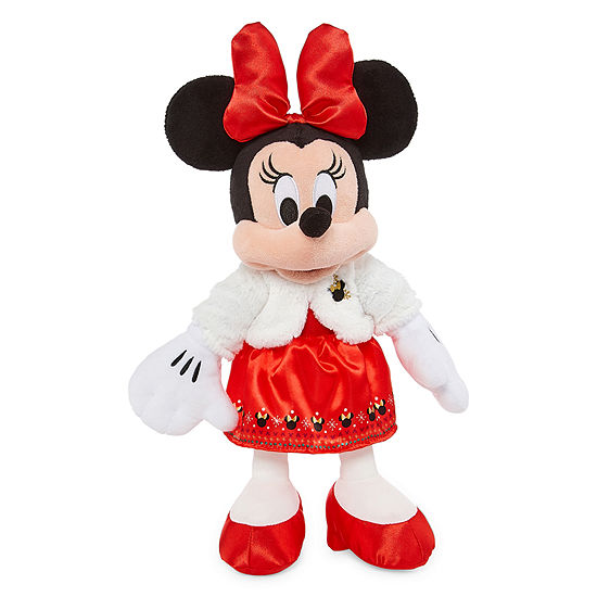 Disney Collection Minnie Mouse Small Holiday Plush