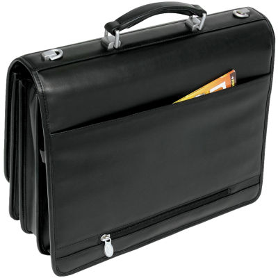 McKlein River North Leather Briefcase