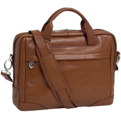 "McKleinUSA Bronzeville 15.4"" Leather Medium Laptop Briefcase"