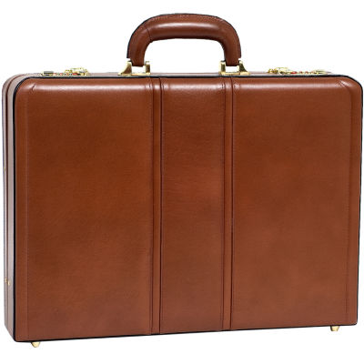 "McKleinUSA Daley Leather 3.5"" Attaché Briefcase"