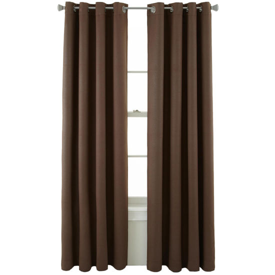 JCPenney Home Cooper Grommet-Top Blackout Curtain Panel
