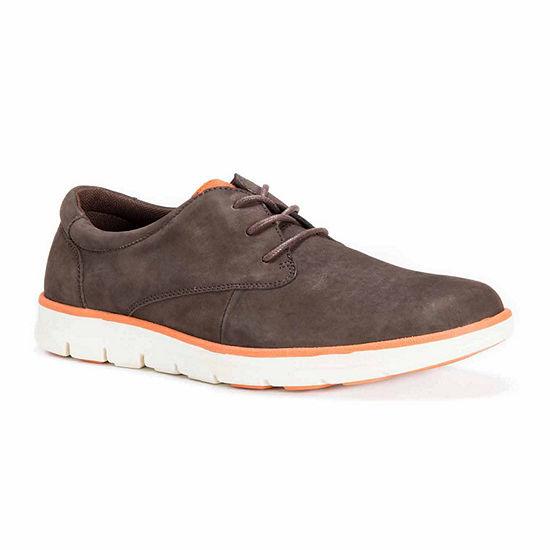 MUK LUKS® Scott Mens Leather Lace-Up Shoes