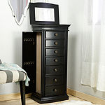 Hives & Honey Landry Black Jewelry Armoire