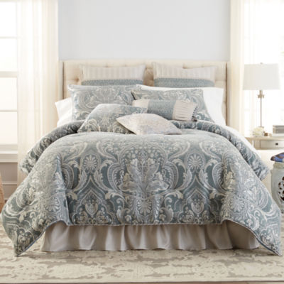 Croscill Classics 4-pc. Damask + Scroll Comforter Set