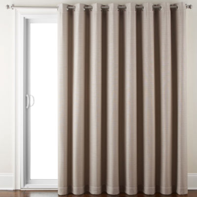 JCPenney Home Quinn Basketweave Grommet-Top Patio Panel
