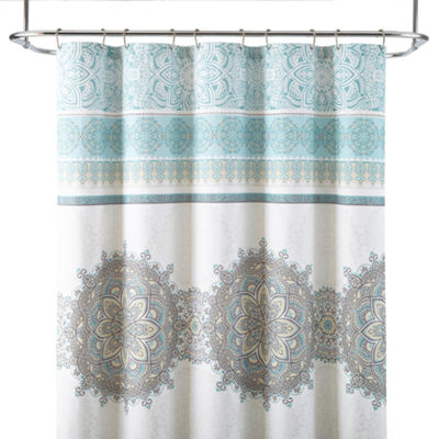 JCPenney Home™ Chloe Medallion Shower Curtain