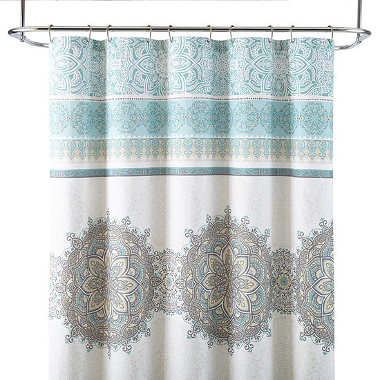 JCPenney HomeTM Chloe Medallion Shower Curtain