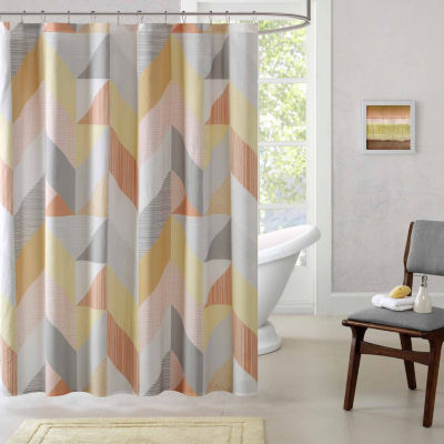 Parker Cotton Shower Curtain