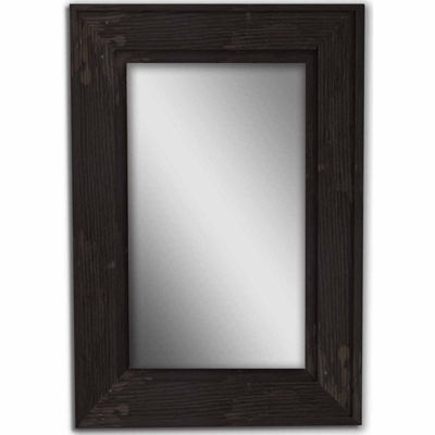 Black Bone Wood Mirror