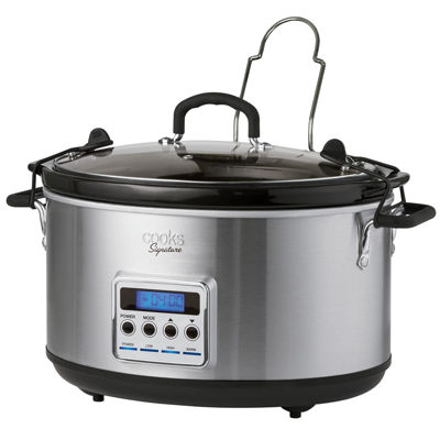 Cooks Signature 8 Quart Slow Cooker