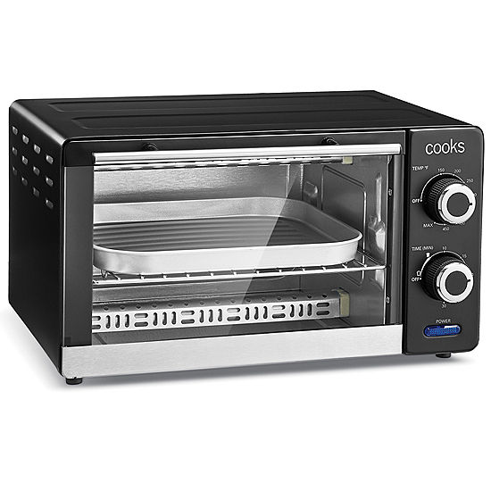 cooks 4 slice toaster oven jcpenney