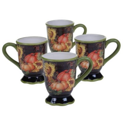 Certified International 4-pc. Coffee Mug