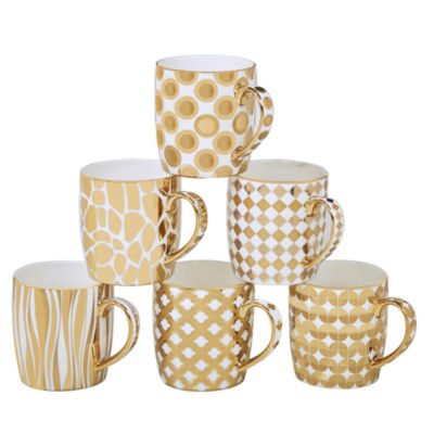 Certified International 6-pc. Coffee Mug