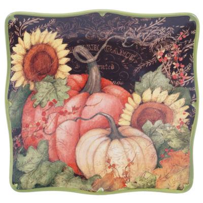 Certified International Botanical Harvest Serving Platter