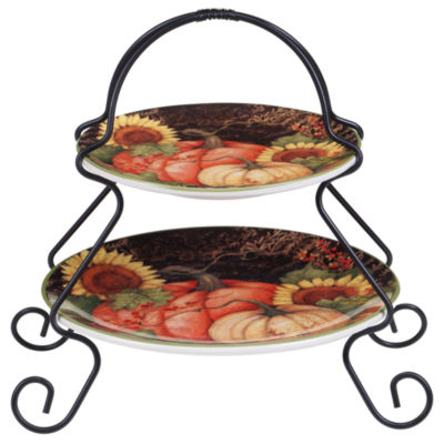 Certified International Botanical Harvest Tiered Server