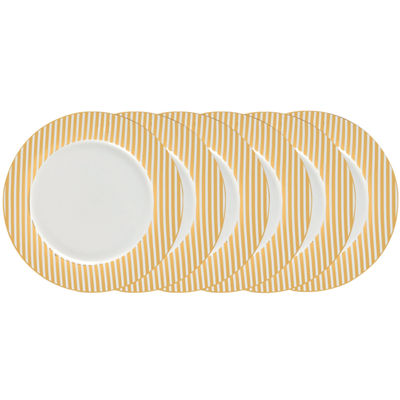 Certified International Elegrance Gold 4-pc. Dinner Plate