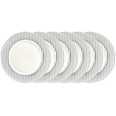 Certified International Elegance Silver 6-pc. Dinner Plate