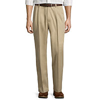 St. Johns Bay Easy-Care Pleat-Front Pants