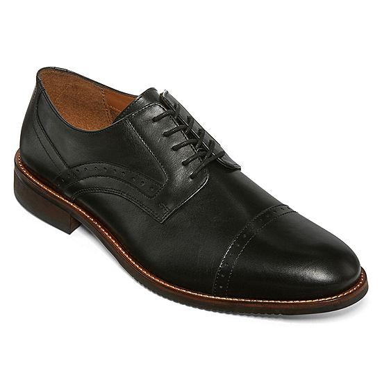 799ec6ea14fe8 Stafford Murphy Mens Leather Cap Toe Dress Oxford Shoes JCPenney