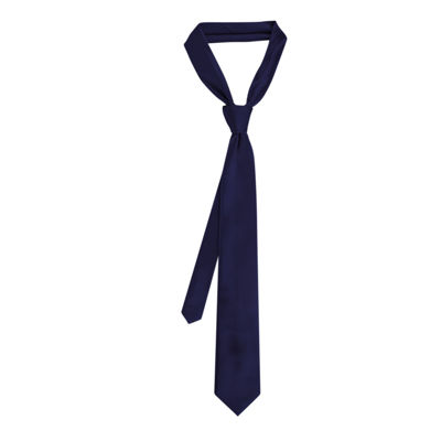 Van Heusen® Tie Right Square Unsolid Solid Tie