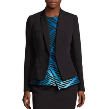 Worthington® Seam-Detail Collarless Blazer - Tall