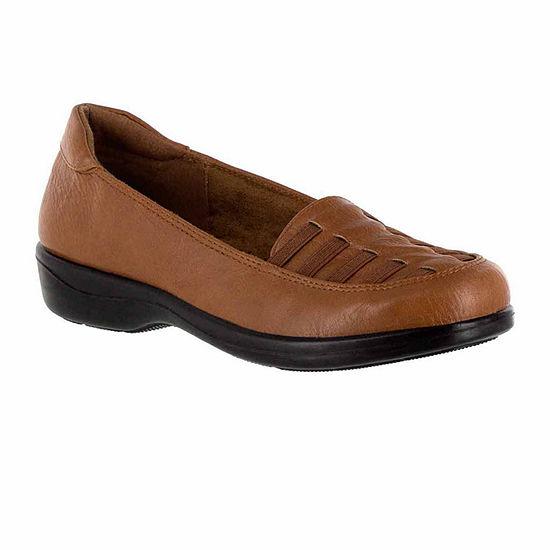 Easy Street Womens Genesis Slip-On Shoe Closed Toe