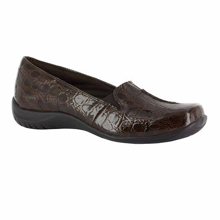 Easy Street Womens Purpose Slip-On Shoe, 10 Medium, Brown