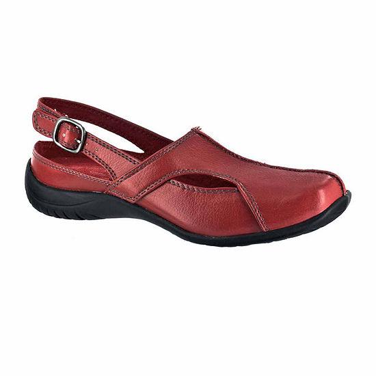Easy Street Womens Sportser Pumps Square Toe Flat Heel