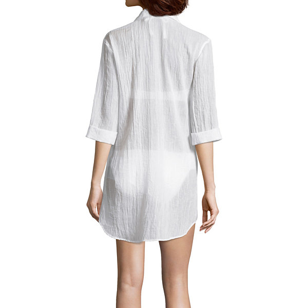 a.n.a Crepe Swimsuit Cover-Up Dress