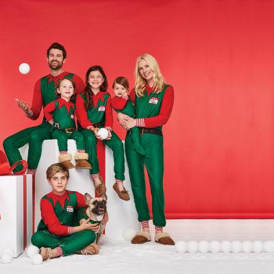 North Pole Trading Co. Elf One Piece Pajama- Men's