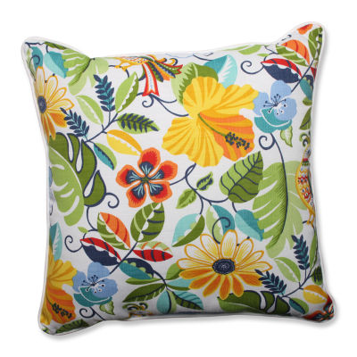 Pillow Perfect Lensing Garden Square Outdoor FloorPillow