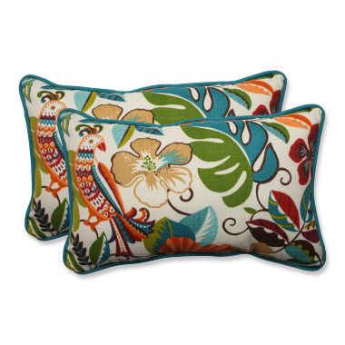 Pillow Perfect 2-pc. Outdoor Pillow