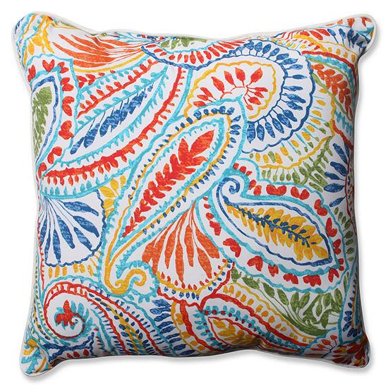 Pillow Perfect Ummi Square Outdoor Floor Pillow
