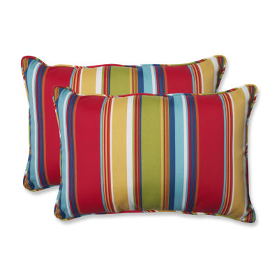 Pillow Perfect Westport Garden Rectangular OutdoorPillow - Set of 2