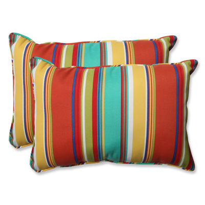 Pillow Perfect Westport Spring Rectangular OutdoorPillow - Set of 2